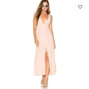 NWT privacy please revolve lomax maxi dress-S